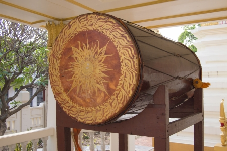 Thai old style drum Stock Photo - 18574871