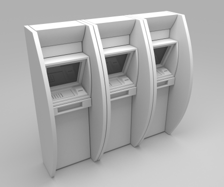 3d atm matchine photo