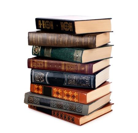 libros antiguos: Libros del Antiguo Foto de archivo