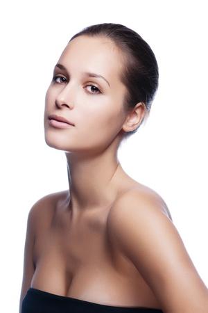 Porträt einer schönen gesundes Mädchen Standard-Bild