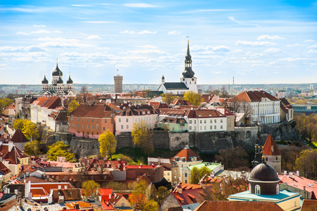 old city: Tallinn, Estonia at the old city.