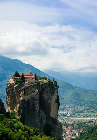 Monastery Holy Trinity , Meteora , Greece.