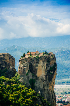 inaccessible: Monastery Holy Trinity , Meteora , Greece.