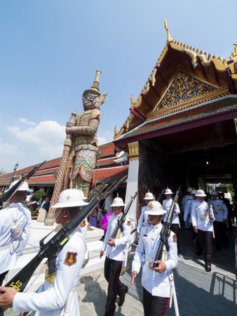 the emerald city: Temple of the Emerald Buddha Editorial