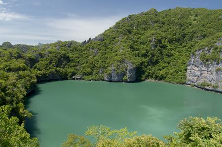 angthong: Inland sea, Angthong national marine park, koh Samui, Southern of Thailand