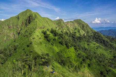 kanchanaburi: Khao Chang Puak mountain, Kanchanaburi, Thailand