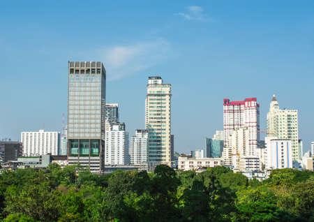 building of bangkok
