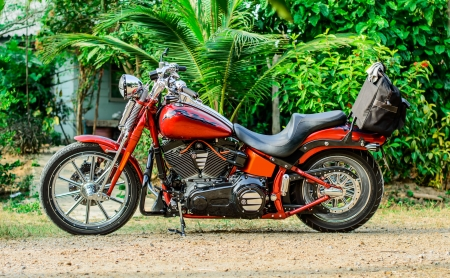 twin engine: motorcycle stock 5 Editorial