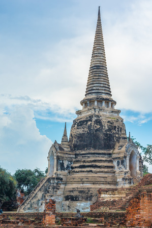 the historical: Historical Park, Phra Nakhon Si Ayutthaya, Thailand Stock Photo
