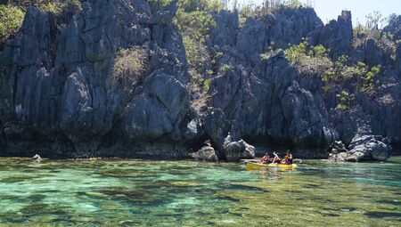 boracay: A swimming momment on the island of Boracay