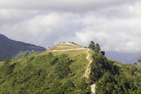 Myanmar-Thailand border area Фото со стока