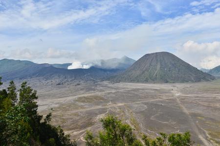 Bromo volcano in Bromo Tengger Semeru National Park, East Java, Indonesia