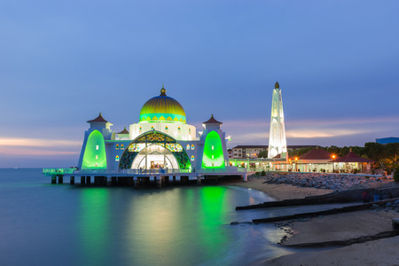 Malacca Straits Mosque is a mosque located on Malacca Island near Malacca Town in Malacca state, Malaysia.