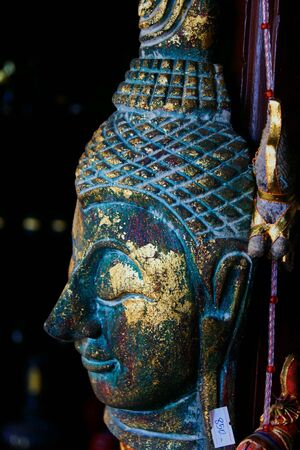cabeza de buda: Buddha head Foto de archivo