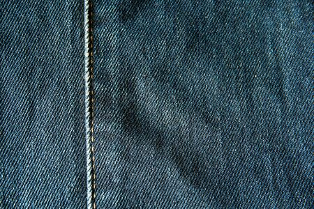 blue: Blue jean texture close up