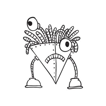 Retro Cartoon Robot photo