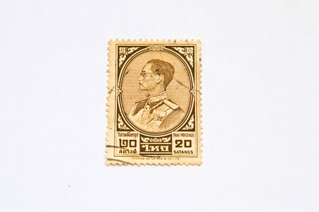 bhumibol: Thailand Stamp(King Bhumibol Adulyadej) Editorial