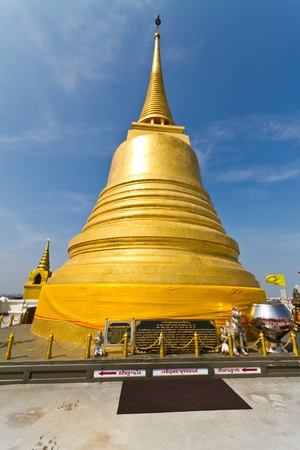 Golden Mount Temple (Wat Sakate), Bangkok, Thailand Stock Photo - 8387608