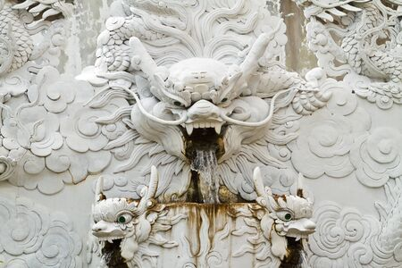Chinese Dragon Statue Stock Photo - 11765653