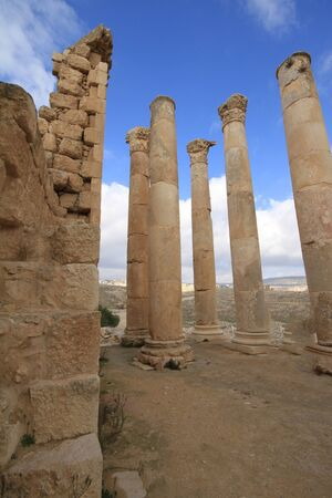 Temple of Zeus,Jarash Jordan photo