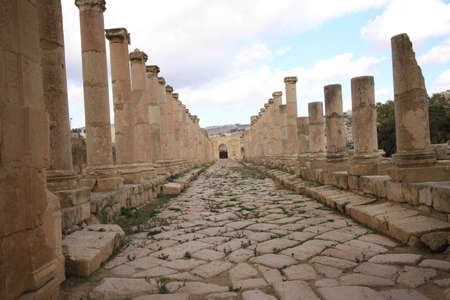 North Gate,Jarash Jordan photo