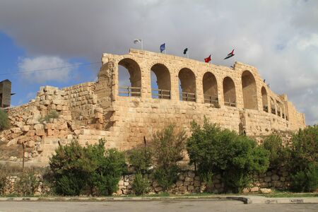 Hippodrome,Jarash Jordan Stock Photo