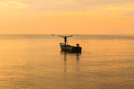 boat on a beach. photo