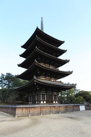 Pagoda in Kyoto, Japan photo