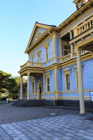 oficina antigua: El ex sucursal del gobierno de Hokkaido