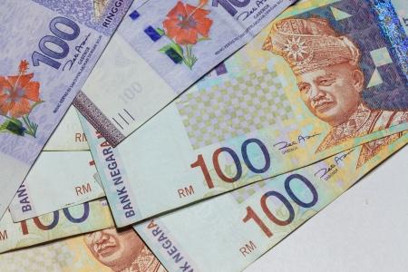 Malaysia Ringgit Note Stock Photo