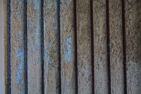 rusty steel door texture background photo