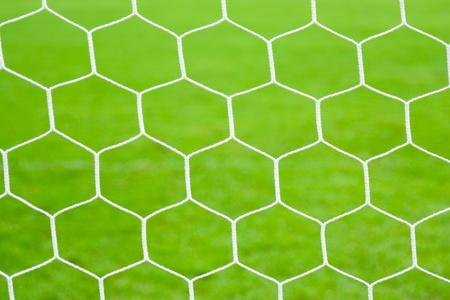 Net of soccer goal  photo
