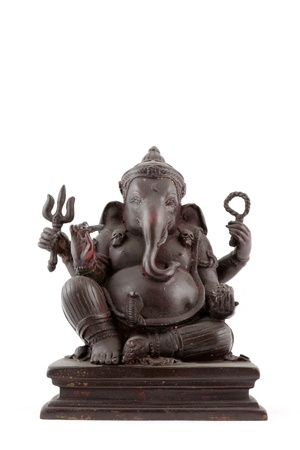 Elephant-headed god statue photo
