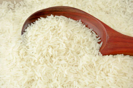 Thai jasmine rice Stock Photo - 9680219