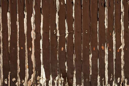 Old brown wood wall photo