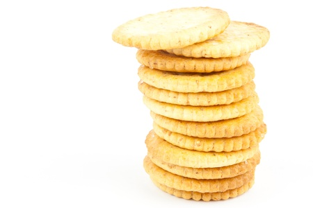 Stack of crakers