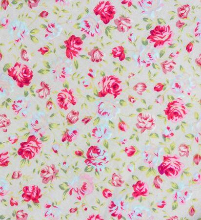 Rose Flower Texture of Thai silk pattern, Thailand textile
