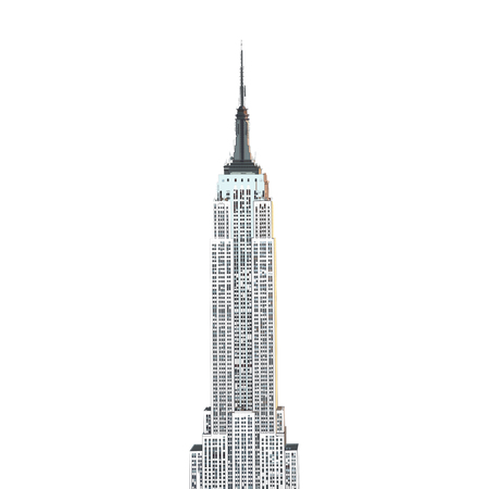 new york skyline: Empire State Building