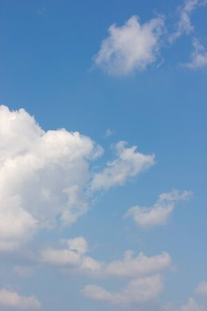 cumulus cloud: blue sky is covered by white clouds