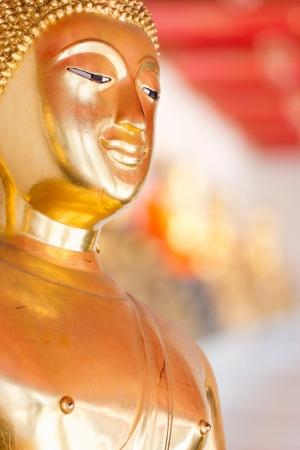 Buddha Golden Statue. Buddha Statue in Thailand Stock Photo - 17854980