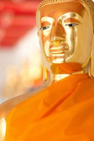 Buddha Golden Statue. Buddha Statue in Thailand Stock Photo - 17854987