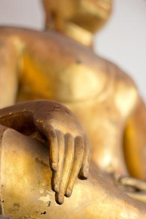 Buddha Golden Statue. Buddha Statue in Thailand Stock Photo - 17854986