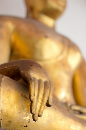 Buddha Golden Statue. Buddha Statue in Thailand Stock Photo - 17854986