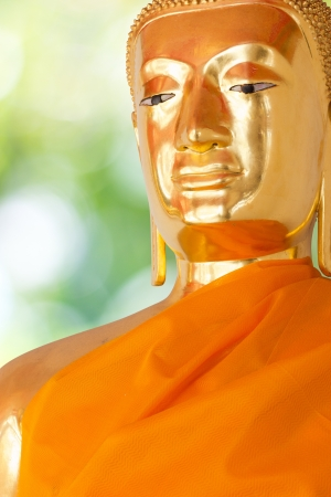 Buddha Golden Statue. Buddha Statue in Thailand Stock Photo - 17854997