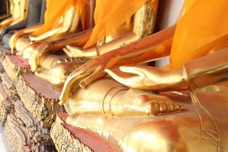 Buddha Golden Statue. Buddha Statue in Thailand Stock Photo - 17854992