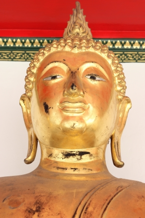 Buddha Golden Statue. Buddha Statue in Thailand Stock Photo - 17854990