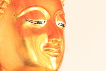 Buddha Golden Statue. Buddha Statue in Thailand Stock Photo - 17854988