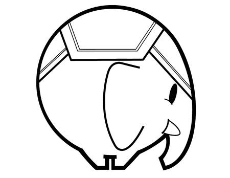 Elephant Thai Vector