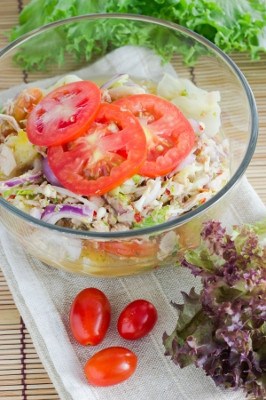Tuna Salad with Thai Style photo