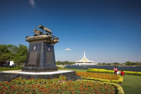 rama: garden Suan Luang Rama XI of Thailand